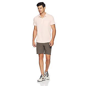 Goodthreads Men's Lightweight Slub Pocket Polo Shirt,, Rose/Rose, Taille Large