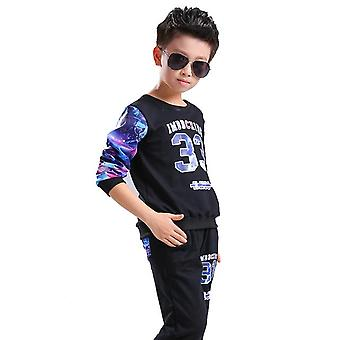 Printed Cotton Tracksuit For Boys