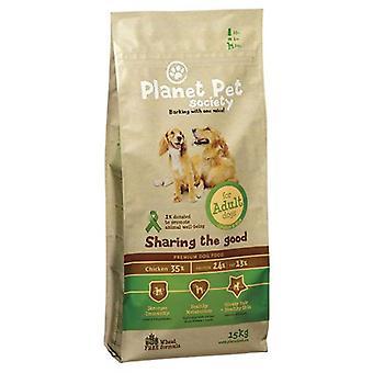 Planet Pet Pienso Para Perros Adultos de Pollo y Arroz (Dogs , Dog Food , Dry Food)