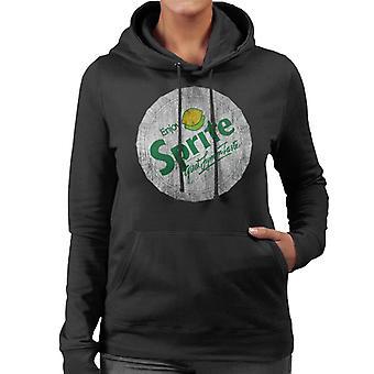 Sprite 80s Retro Logo Bottlecap Women es Hooded Sweatshirt