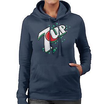 7up 00s Bubble Logo Women's Hooded Sweatshirt