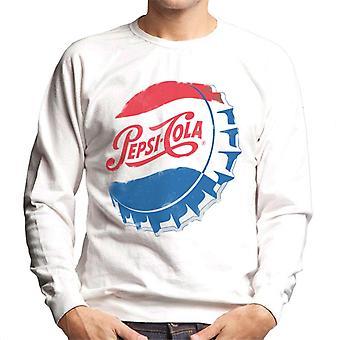 Pepsi Cola Retro 1950s Bottlecap Men's Sweatshirt
