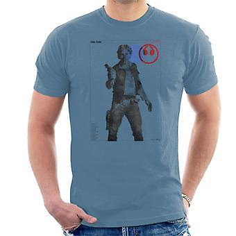 Star Wars Han Solo YT 1300 Millennium Falcon Men's T-Shirt