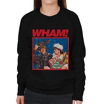 Wham! Snowy Christmas Women's Sweatshirt
