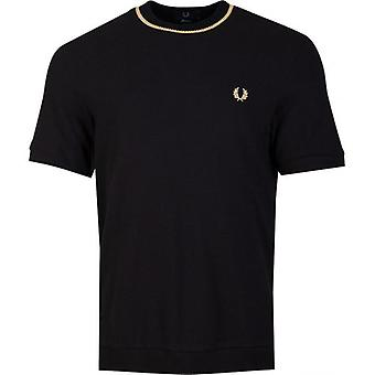 Fred Perry Re-issues Crew Neck Pique T-Shirt
