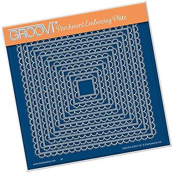 Groovi Scallop Nested Squares