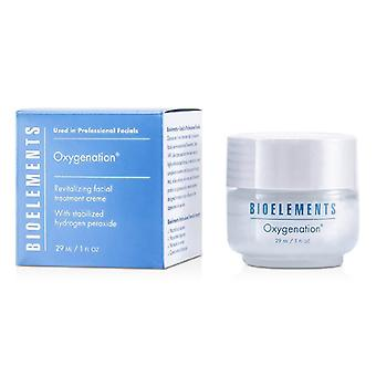 Bioelements Oxygenation - Revitalizing Facial Treatment Creme - For Very Dry, Dry, Combination, Oily Skin Types 29ml/1oz