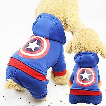 Dog Clothes Winter Warm Pet Dog Jacket Coat Puppy Clothing Hoodies For Small