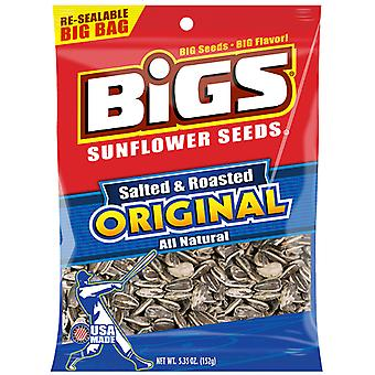 Bigs Salted and Roasted Original Sunflower Seeds