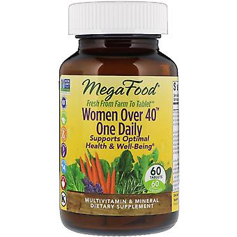MegaFood, Women Over 40 One Daily, 60 Tablets