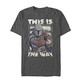 The Mandalorian This is the Way Grey T-Shirt