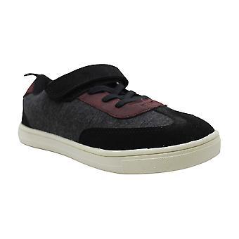 carter's Boys' Tash Sneaker, Black, 2 M US Little Kid