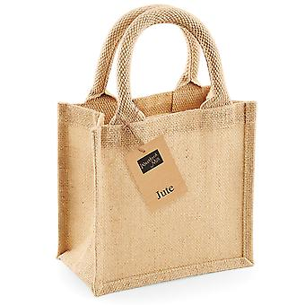 Westford Mill Jute Petite Gift Bag (4L) (Pack of 2)