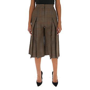 L'autre Koos B1560467020f870 Women's Brown Wool Pants