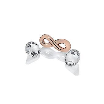 Anais Hot Diamonds Anais Rose Gold Plated Infinity Charm AC121