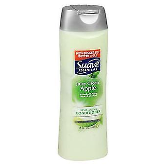 Suave Essentials Juicy Green Apple Revitalizing Conditioner, 15 Oz