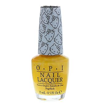 OPI Hello Kitty Collection Nail Lacquer 15ml - My Twin Mummy NLH88