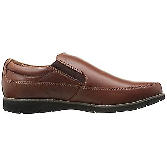 Propét Mens Grant Leather Closed Toe Slip On Shoes