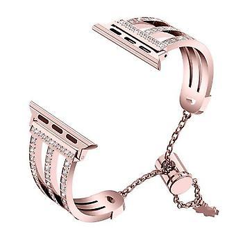 Three-row Diamonds Adjustment Chain