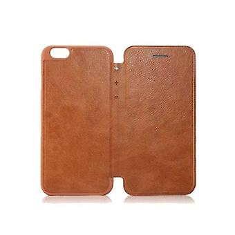 Fashion Wallet PU Leather Ultra Slim Case Cover Protective Shell voor 4.7