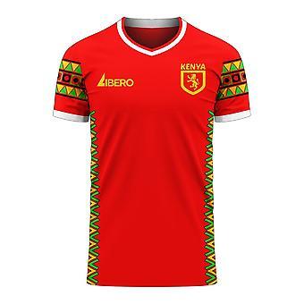 Kenya 2020-2021 Home Concept Football Kit (Libero)