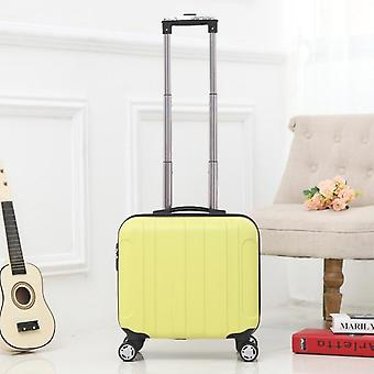 Cabin Suitcase With Wheels Trolley Bag Carry On Rolling Luggage Bagage Trolly