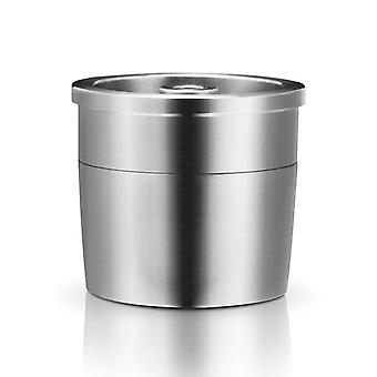 Kaffeemaschine Maschine/Edelstahl Metall wiederverfüllbare wiederverwendbare Kapsel Fit