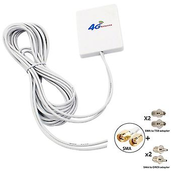 Jx 3g 4g Lte Router Modem Aerial External Antenna - Dual Sma Ts9 Crc9 Connector