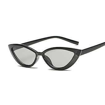 Kočičí brýle, Brand Designer Zrcadlo Malý rám Cateye sluneční brýle