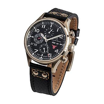 Carl von Zeyten Men's Watch Wristwatch Automatic NO.50 CVZ0050GBK