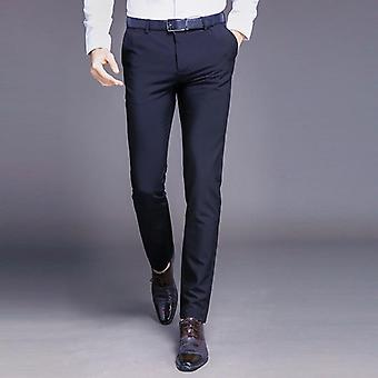 Men Pants Straight Spring Autumn Long Male Classic Business Trousers