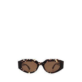 Bottega Veneta BV1031S havana female sunglasses
