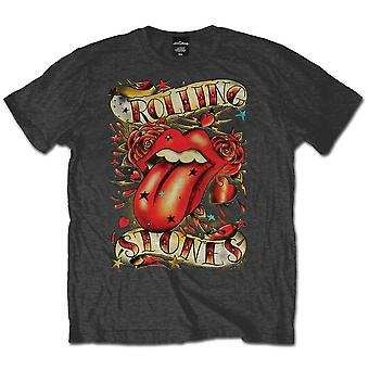 The Rolling Stones Tongues & Stars Official Tee T-Shirt Mens Unisex