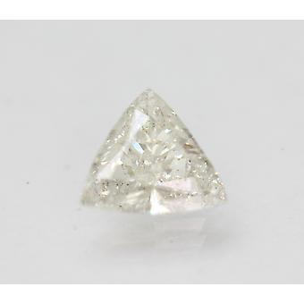 Sertifioitu 1.22 Ct G VS2 kolmio parannettu luonnollinen löysä timantti 8.24x7.85mm 2VG