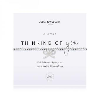 Joma Jewellery A Little Thinking Of You Silver 17.5cm Bracelet 4087