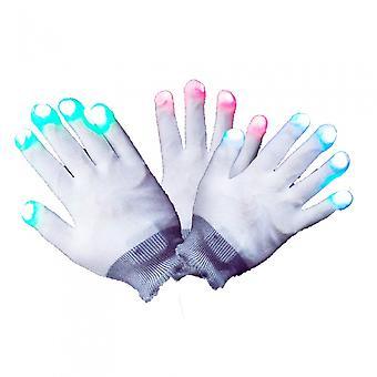 Gloves With Led Lighting White