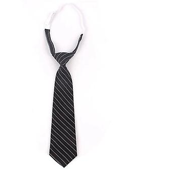 Women Tie For Christmas, Slim Plaid Necktie