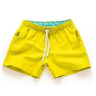Sommarstil Män Shorts Slim Fitness Pants Beach Shorts