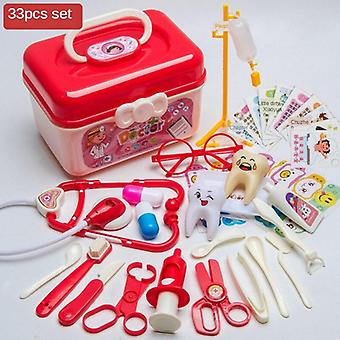 Children Play House Doctor Toy Set - Simulation Medicine Box