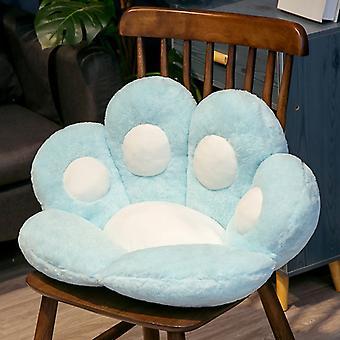 Almofada do assento do urso recheado pequeno sofá de pelúcia almofada interior chão home chair home chair pad pad