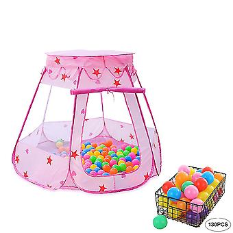 Play tent children's ball pit, foldable swimming pool with zipper storage bag