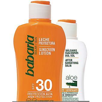 Babaria Milk Sunscreen Aloe F30 + After sun