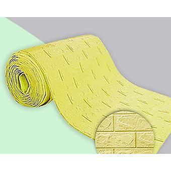3d Wallpaper Continuous Brick Pattern Waterproof Sticker, Decoration Wallpaper