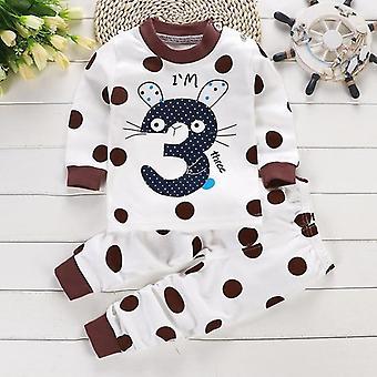 Vêtements de bébé de coton d'automne