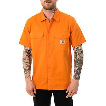 Camisa de hombre carhartt wip s / s master camisa hokkaido i027580.0an