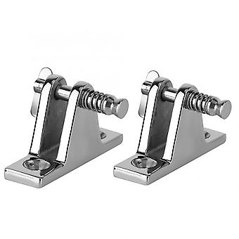Boat Pin Hinge, Stainless Steel, Quick Release,  Deck Hatch For Racing Boats