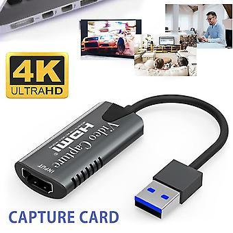 Usb Video Capture Card Hdmi-compatible Video Grabber Record Box