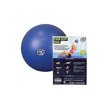 Fitness Mad Pilates 7& Core Strength & Lantio Exer-Soft Gym/Home Workout Ball