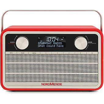 Transita 120 tragbares DAB Radio (DAB+, UKW, 24 Stunden Akku, Aux In, Wecker, 2 Weckzeiten,