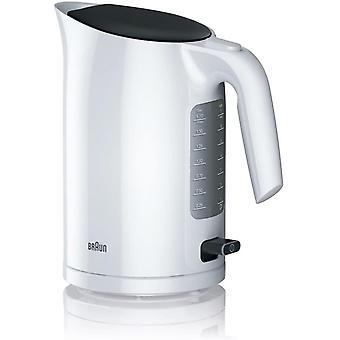 Gerui Purease Serie 3 WK3110WH plastic Kettle 1.7L, 3000 W, rapid boil system - White